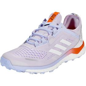 adidas TERREX Agravic Flow Trail løbesko Damer, violet/rød